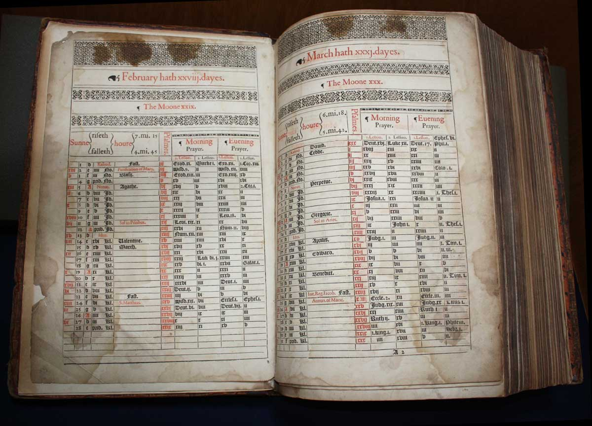 Lectionary Page