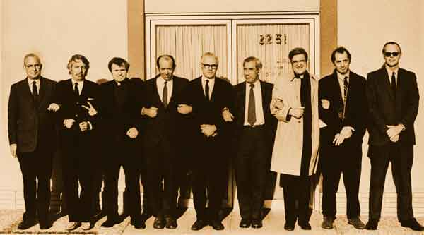 Robert McAfee Brown and others, San Mateo Draftboard 1971